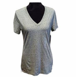 a.n.a. Gray Women's Short Sleeve Tee Sz Small NWT